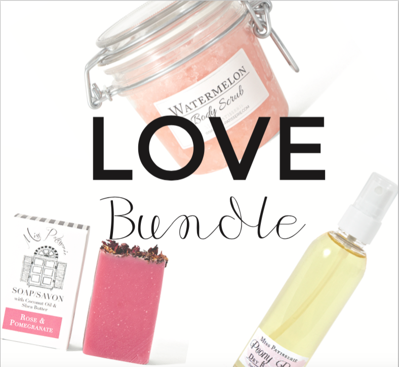 Love Bundle Gift Set for Valentines Day